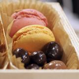 Caixa para macarons e chocolates