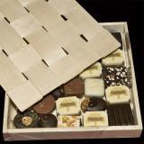 Caixa para chocolate com tampa